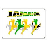 Jamaican Relay 4 by 400m Banner