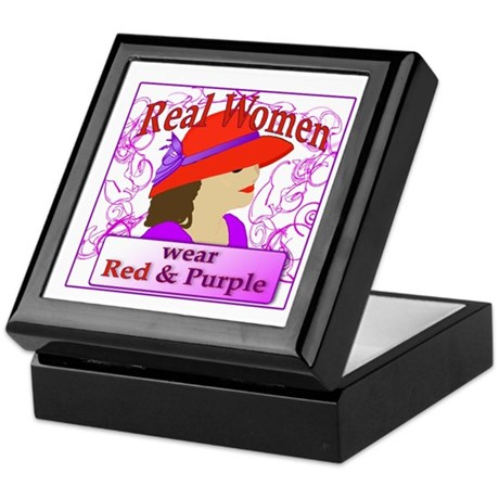 Real Women Keepsake Box