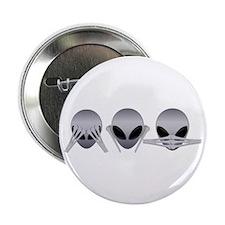 See No Evil Alien Button