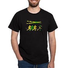 Jamaican Relay team T-Shirt