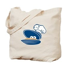 Happy Clam Tote Bag