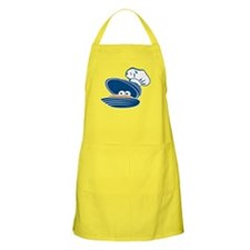 Happy Clam BBQ Apron