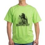 BLACKFEET INDIAN CHIEF Green T-Shirt