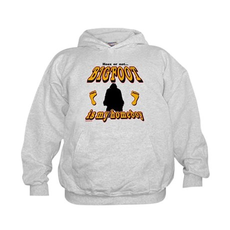 Bigfoot is my Homeboy Kids Hoodie