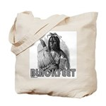 BLACKFEET INDIAN CHIEF Tote Bag
