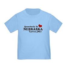 Somebody in Nebraska Loves Me T