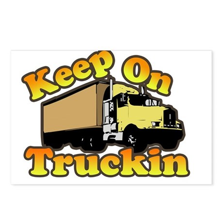 Keep On Truckin Postcards (Package of 8)