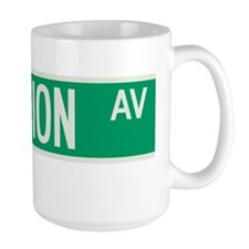 Fashion Avenue in NY Mug