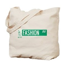 Fashion Avenue in NY Tote Bag
