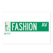 Fashion Avenue in NY Postcards (Package of 8)