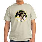 Night Flight/German Shepherd #11 Light T-Shirt