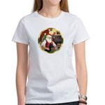Santa's German Shepherd #14 Women's T-Shirt