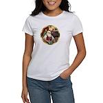 Santa's German Shepherd #12 Women's T-Shirt