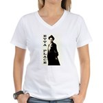 Etta Place Women's V-Neck T-Shirt