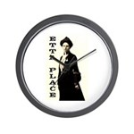 Etta Place Wall Clock