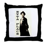 Etta Place Throw Pillow