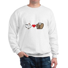 Cock Loves Beaver Sweatshirt