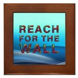 TOP Swim Slogan Framed Tile