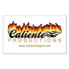 Caliente Productions Rectangle Decal