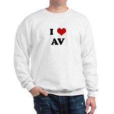 I Love AV Sweatshirt