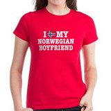 I Love My Norwegian Boyfriend Tee