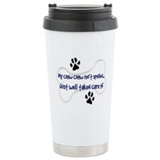 My Chow Chow Isn't Spoiled Ceramic Travel Mug
