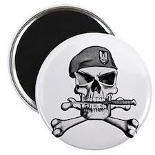 SAS Skull and Bones Magnet