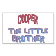 Cooper - The Little Brother Rectangle Decal