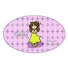 Tabitha Oval Decal