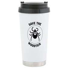 Save the Woodtick Ceramic Travel Mug