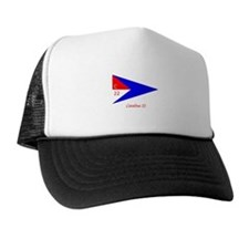 Catalina 22 Burgee Trucker Hat
