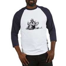 Gorilla and Alien, confusion Baseball Jersey