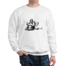 Gorilla and Alien, confusion Sweatshirt