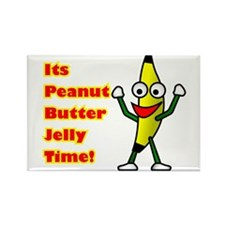 Cute Peanut butter jelly and Rectangle Magnet (100 pack)