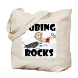 Tubing Rocks Tote Bag