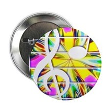 """Funny Drum bass music 2.25"""" Button (10 pack)"""