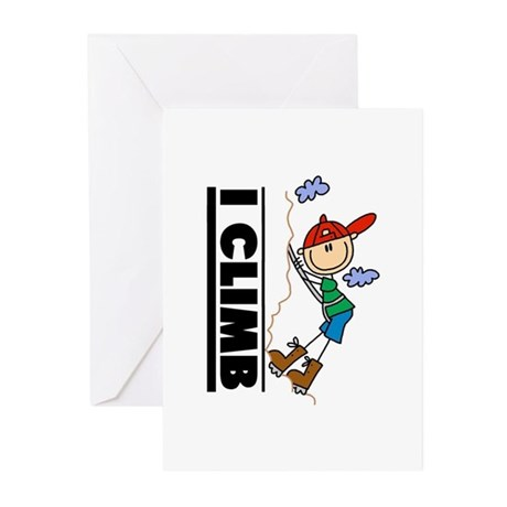 Mountain Climbing Greeting Cards (Pk of 10)
