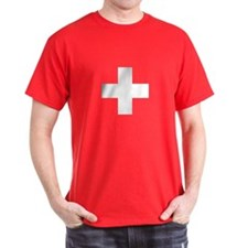 Swiss Cross-1 Men's T-Shirt