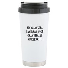 Grandma Ceramic Travel Mug