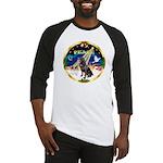 XmasSunrise/Rottweiler Baseball Jersey