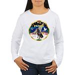 XmasSunrise/Rottweiler Women's Long Sleeve T-Shirt