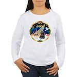 XmasSunrise/Cocker Women's Long Sleeve T-Shirt