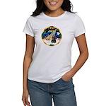 XmasSunrise/Cocker Women's T-Shirt