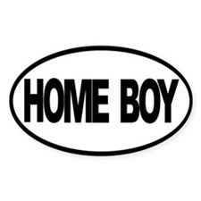 Homeboy Oval Decal