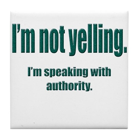 Authority Tile Coaster