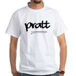 Pratt White T-Shirt