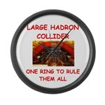large hadron collider gifts Large Wall Clock