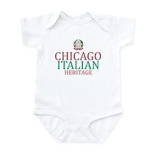 Chicago Italian Heritage Infant Bodysuit