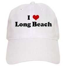 I Love Long Beach Baseball Cap