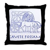 Fossa Throw Pillow